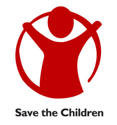 Logo of Save the Children Sweden.